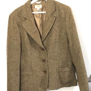 Talbots Tweed Blazer